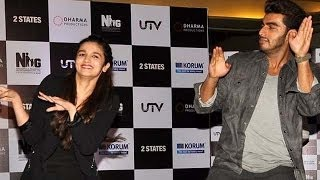 2 States | Alia Bhatt and Arjun Kapoor promote their movie in a mall