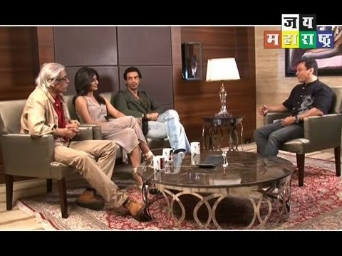 Arjun Rampal, Chitrangada Singh and Sudhir Mishra on Inkaar in Cinema Talkies.