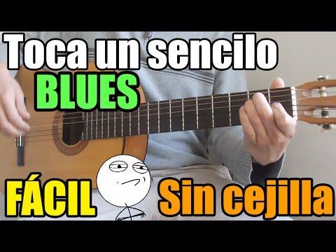 Como tocar blues en guitarra. MUY FÁCIL. Acordes para improvisar