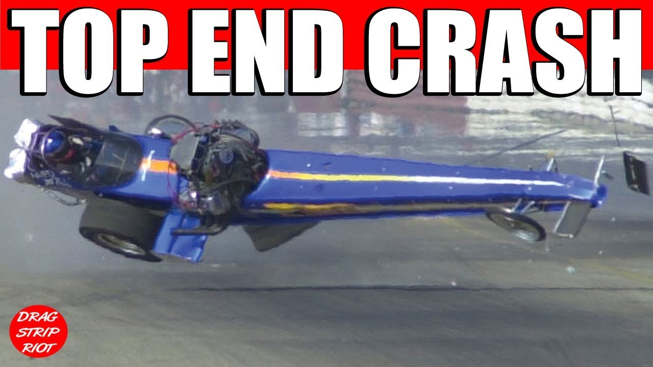 2000 Chrr Nitro Top Fuel Epic Fed Mishap Crash Dave