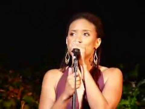 Tracie Thoms and Bree Bruns perform at Upright Cabaret