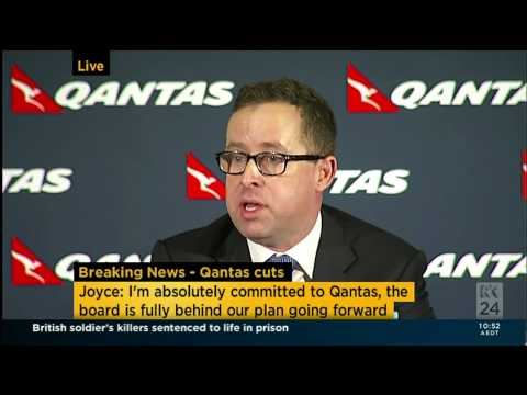 Alan Joyce Press Conference live - Questions seg 1 27-Feb-2014