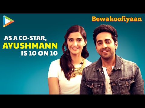 Ayushmann Khurrana-Sonam Kapoor Fun Interview On Bewakoofiyaan Part 5