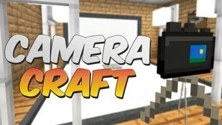 Usable Cameras In Minecraft CameraCraft Mod Showcase
