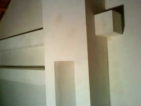 Półka  z  płyty kartonowo  gipsowej.wmv