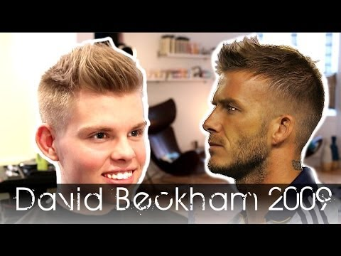 """Like and Comment"" - David Beckham  2009 Re-invention - how to  use By Vilain Silver Fox"