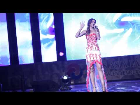 Miss Australia La Toyah Asha Talent Show of Miss Asia Pacific World 2013