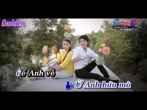 Karaoke Cây Lúa Chung Tình - Song ca với saobien