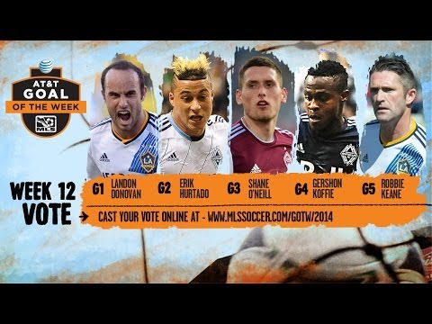 AT&T Goal of the Week Nominees: Week 12