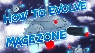 pokemon black 2 how to get magnemite