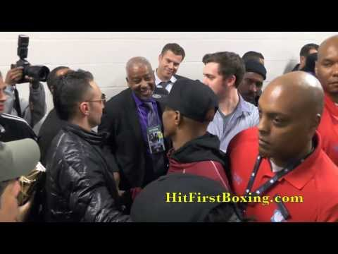 Zab Judah After Malignaggi Fight