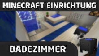 minecraft einrichtung badezimmer youtube