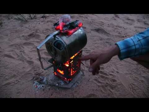 Desert Overland Camping Our VW Syncro Firebox Cooking, Baking, Roasting! Part 1