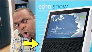 AMAZON ECHO SHOW FIRST IMPRESSIONS!