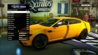 "GTA V Pimp My Ride Ocelot Jackal ""Jaguar XF"" Car"