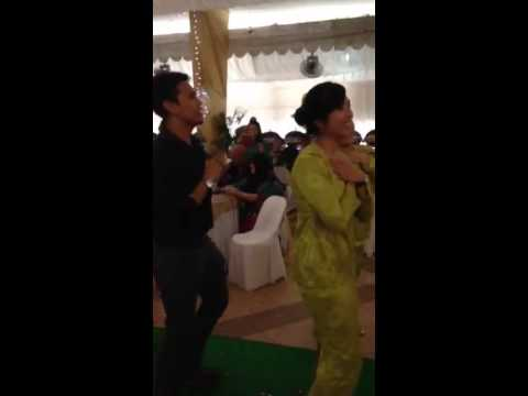 Surprised dance for marlissa n taufik