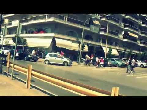 ГРЕЦИЯ: Прогулка по городу Салоники... набережная... THESSALONIKI GREECE