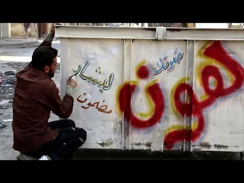 Syria activists campaign against upcoming elections