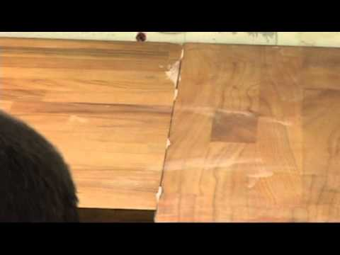 Apollo Worktops Wood Bonding Joints Youtube