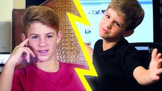 Kid MattyBRaps VS Teen MattyBRaps!!!
