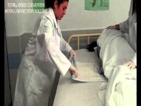 cama hospitalaria ocupada