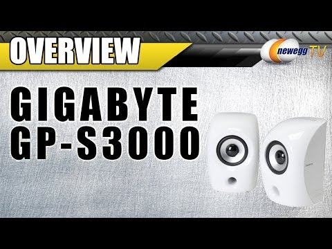 Gigabyte GP-S3000 USB 3.0 Digital USB Speakers Overview - Newegg TV