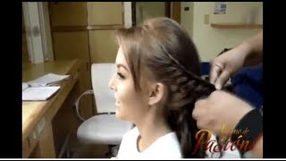 Simple Summer Hair Style  Abismo de Pasion Angelique Boyer   YouTube