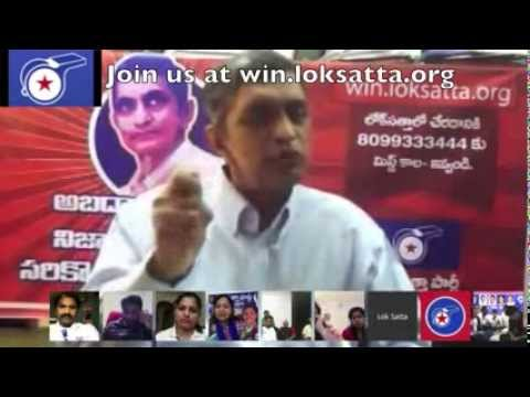 Loksatta JP: Aam Aadmi Party is like a child that...