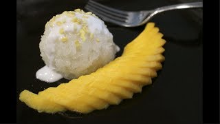 Mango & Sticky Rice Recipe  ข้าวเหนียวมะม่วง - Hot Thai Kitchen