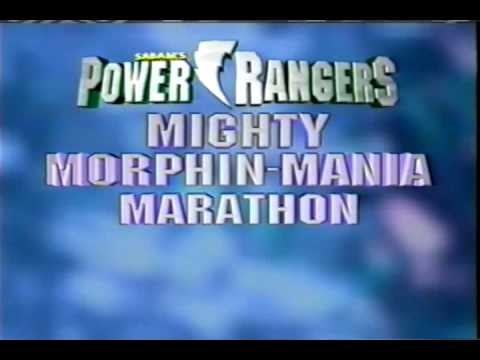 Power Rangers Moments & Mighty Morphin-Mania Marathon promos