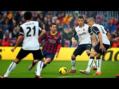 Barcelona 2 - 3 Valencia Camp Nou el FC Barcelona pierde