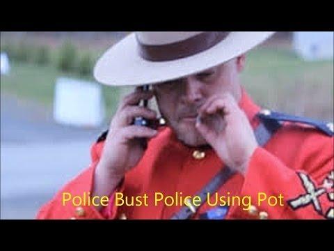 Police Puffs Pot in Public