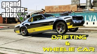 GTA 5 DRIFTING AND WHEELIE SABRE GT