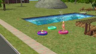 Child and Toddler Wading Pool Sims 2