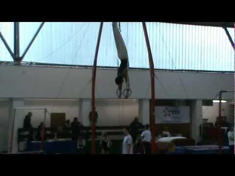 Dudás Norbert (16) tornász, gyűrű gyakorlat 2012 10 07