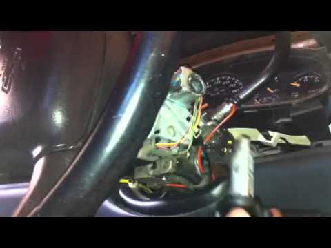 "How to replace ""Ignition Switch"" Chevrolet Silverado 2004 ..."