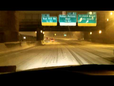 Chronicles 4 winter storm driving, SUVs own the road?