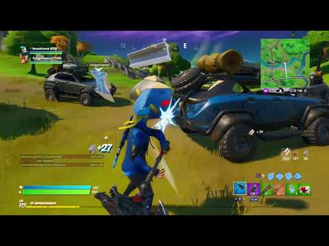 FORTNITE FUNNY MOMENTS!! NEW NINJA SKIN AND EMOTE!!