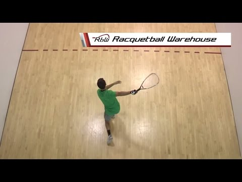 Taking Offensive Shots Off the Back Wall - Racquetball Lesson