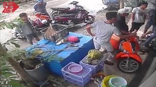 """Giang hồ dội """"mưa gạch"""" vào nhà dân ở quận Bình Thạnh"""