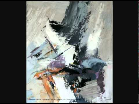 Galerie tableau n 1 2 art abstrait youtube for Galerie art abstrait
