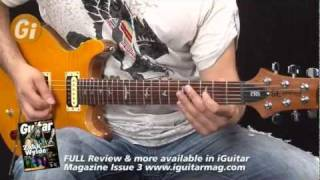 PRS SE Santana Review With Tom Quayle Guitar Interactive Issue 3