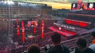 Wrestlemania 31 pyro botch