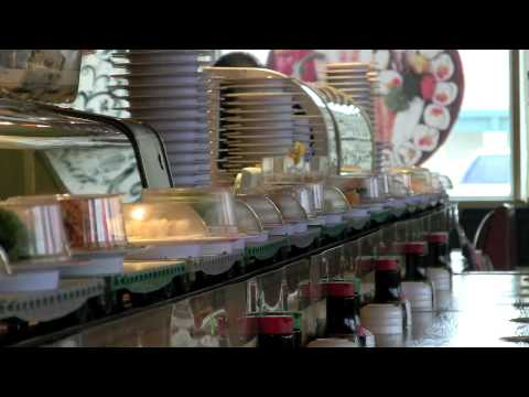 Sushi train tulsa oklahoma japanese restaurant youtube for Asian cuisine restaurant tulsa