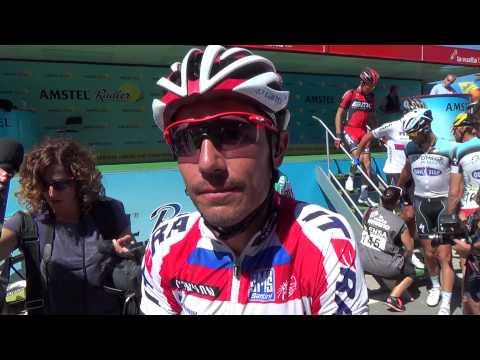 16ª etapa de La Vuelta a España 2013   Entrevista con Joaquim Rodríguez