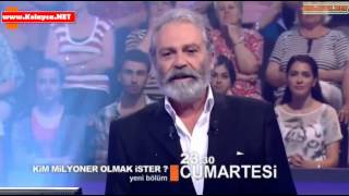 Kim milyoner olmak ister 21 Haziran 2014 356. bölüm fragmanı Haluk Bilginer