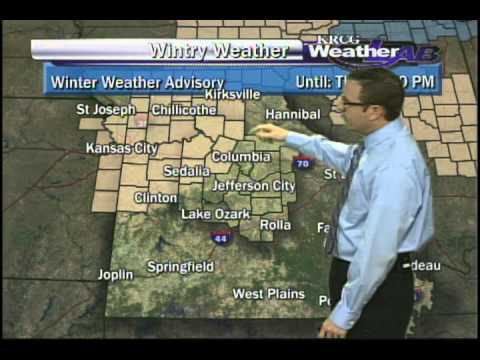 Winter weather in the forecast for Mid-Missouri, Winter Weather forecast for Mid-Missouri