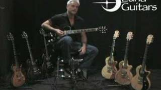 Luna Athena Hollow Body Guitar
