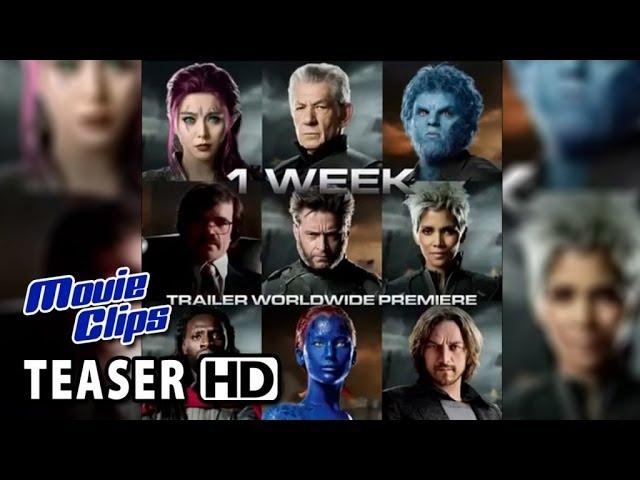 X-Men: Days of Future Past Instagram TEASER - 1 Week (2014) HD