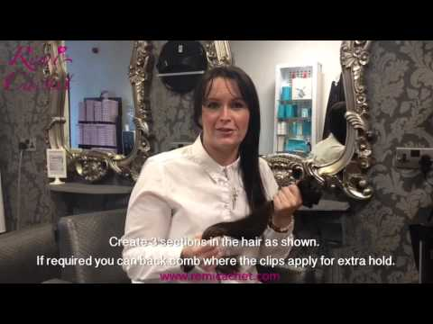 Remi Cachet Clip-In Deluxe Hair Extensions